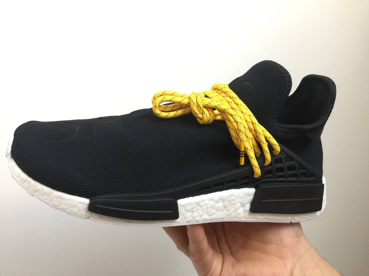 Fake adidas nmd human race yellow hotsale