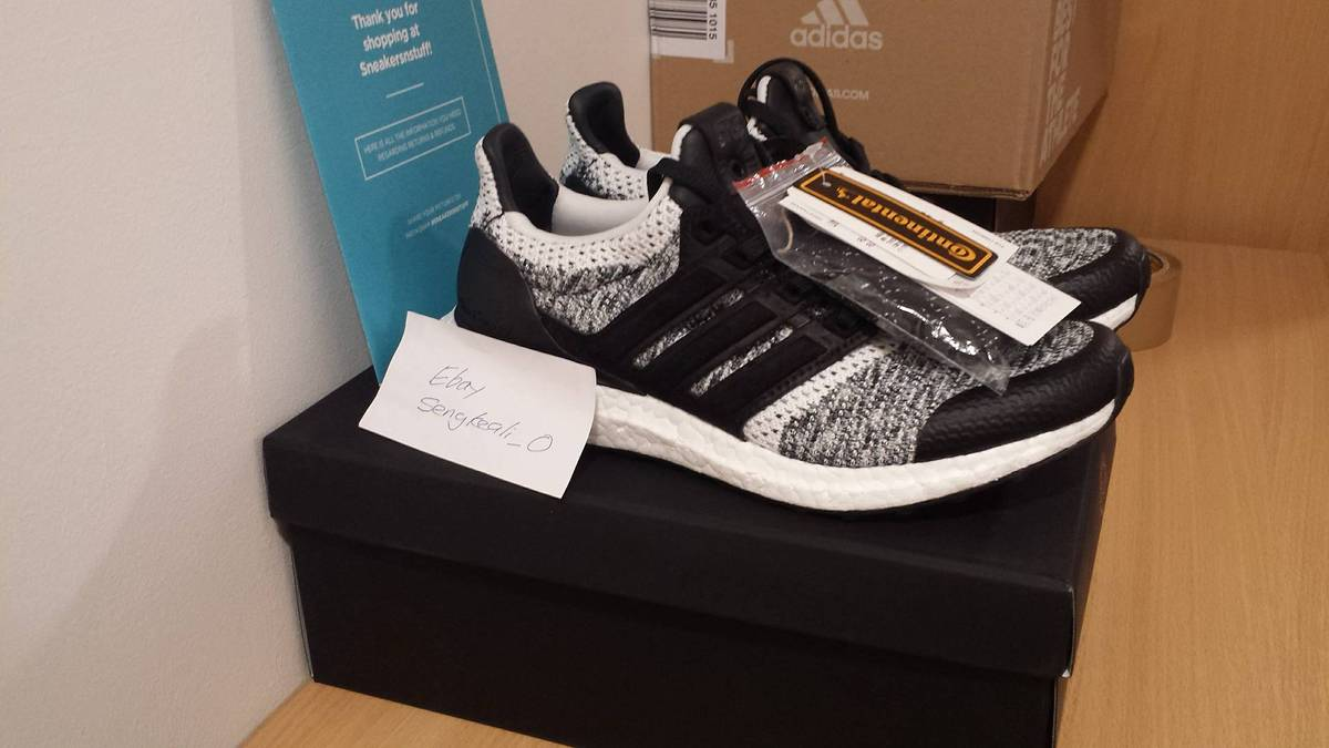 Adidas Ultra Boost Sneakersnstuff SNS X Social Status UK 6 / US 6.5 BY2911 - photo 1/6