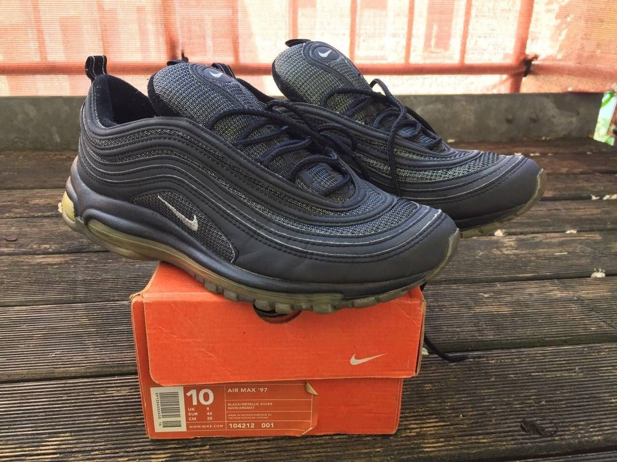 Cheap Nike Air Max 97 Premium Cheap Nike 312834 003 cool grey/deep pewter