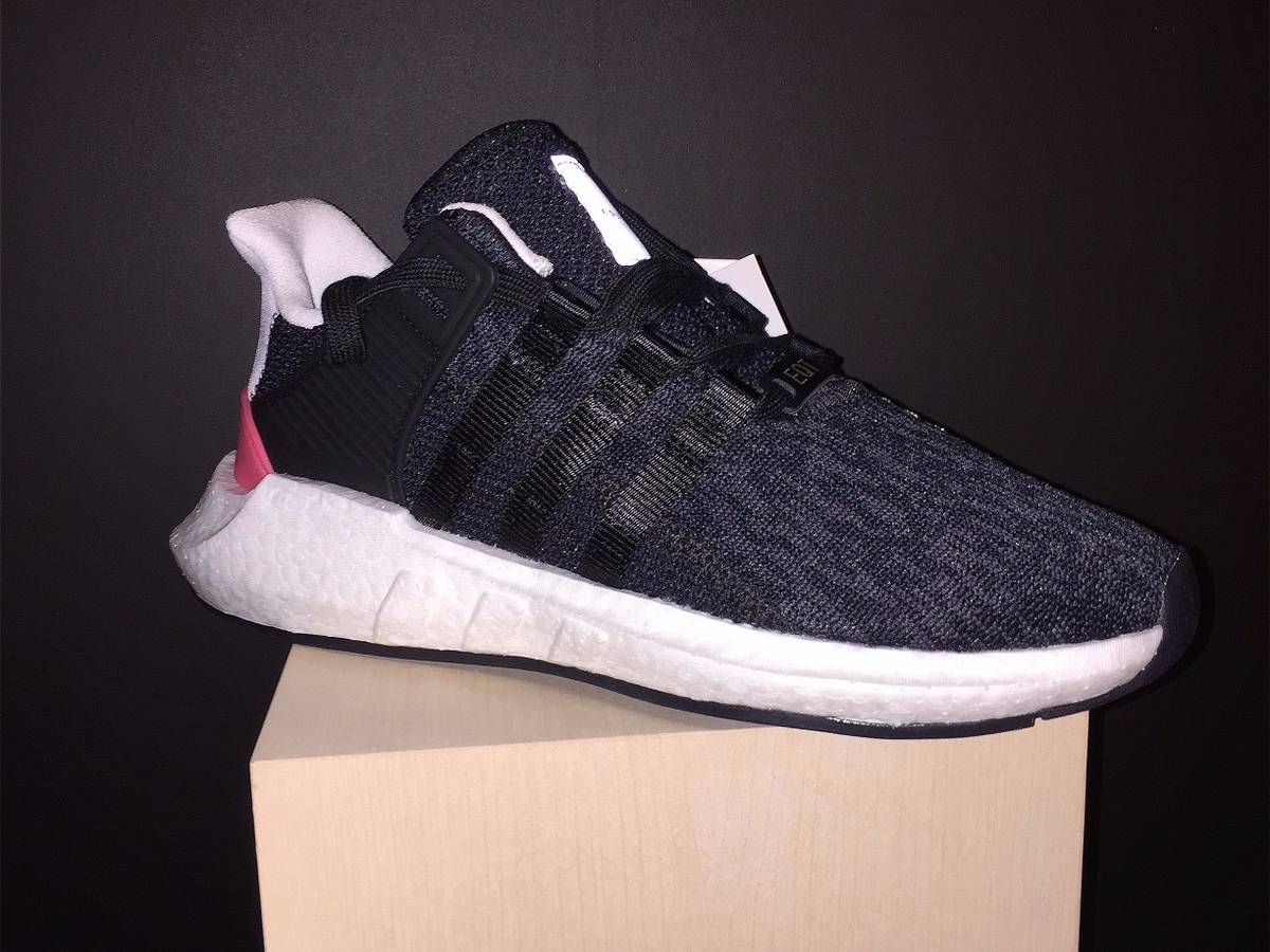 adidas EQT Support 93 17 White Red Boost Men's Shoe Size 9