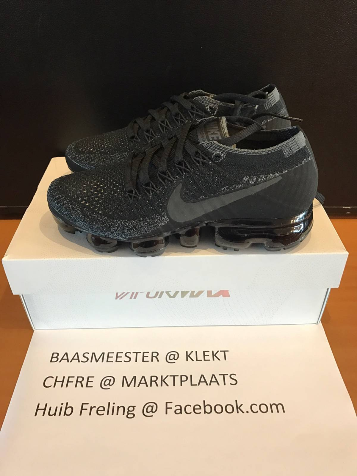 d0938121aa9 The Cheap Nike Air VaporMax Triple Black Returns Next Month
