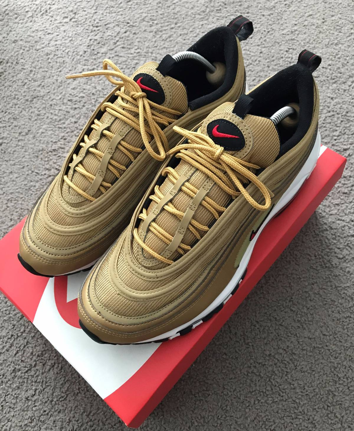 Cheap Nike Air Max 97 OG 'UNDEFEATED' UNBOXING GUCCI
