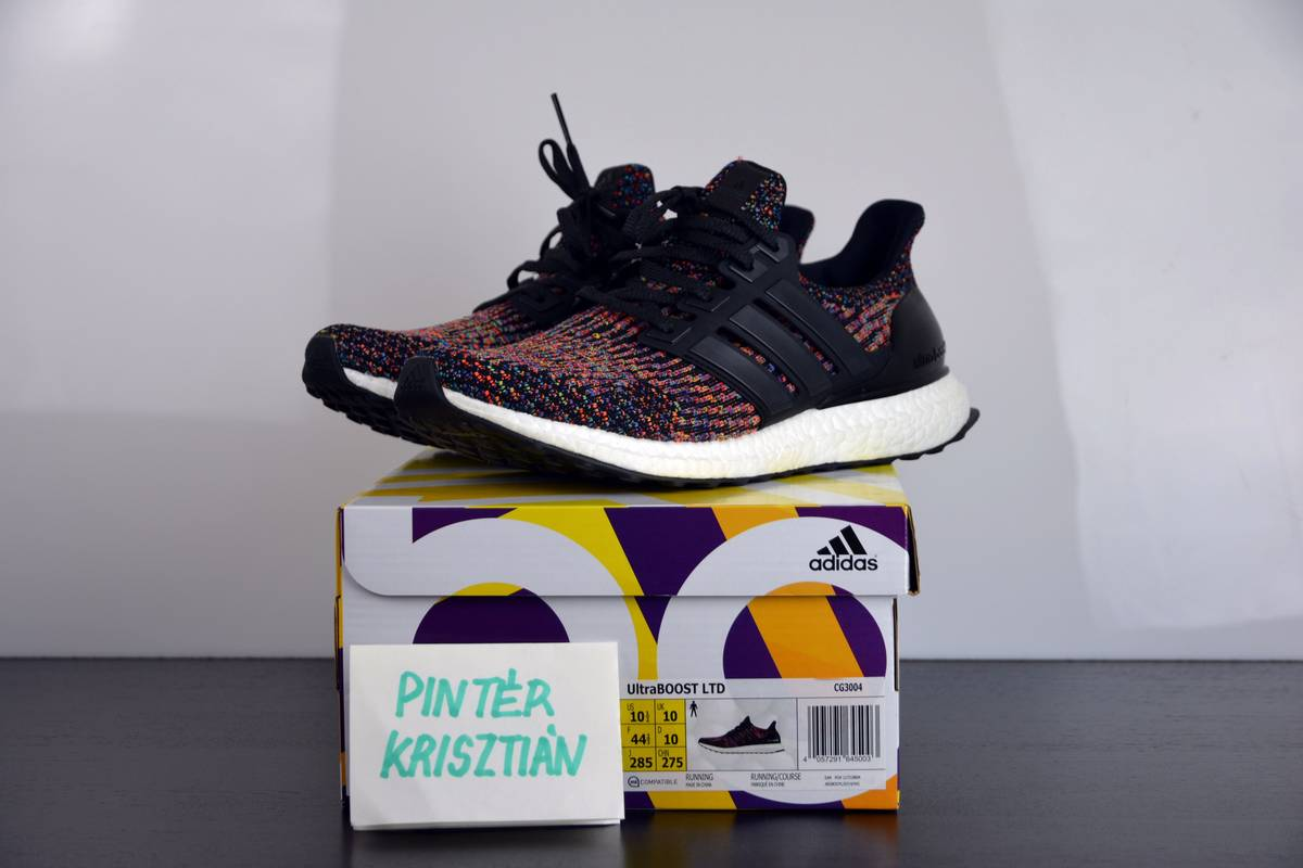 Adidas Ultra Boost 3.0 Blue/Black Ecosisclub Sneakers and Apparels