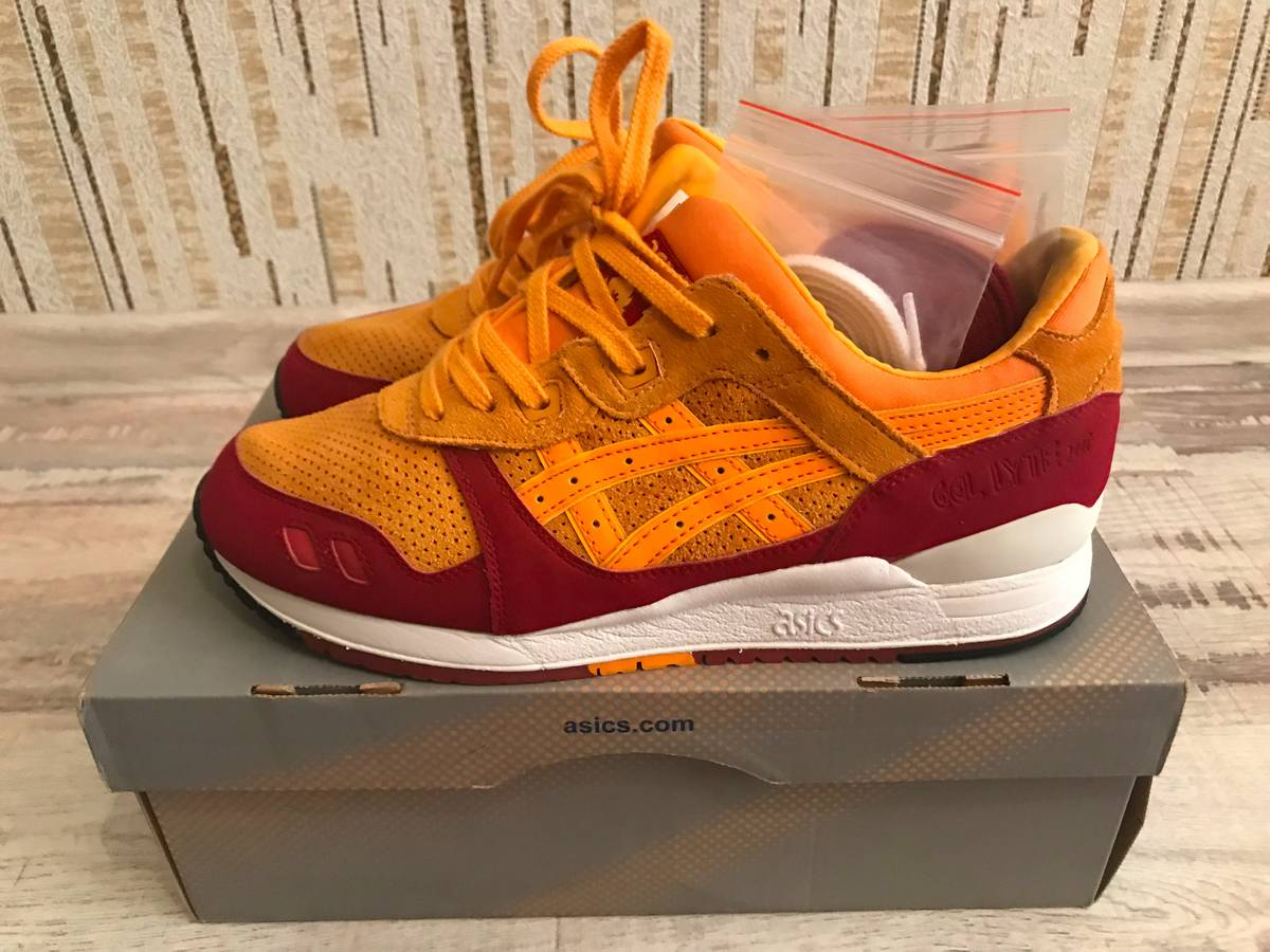 asics x hanon wildcats gel lyte iii release date official images 6fa1604804