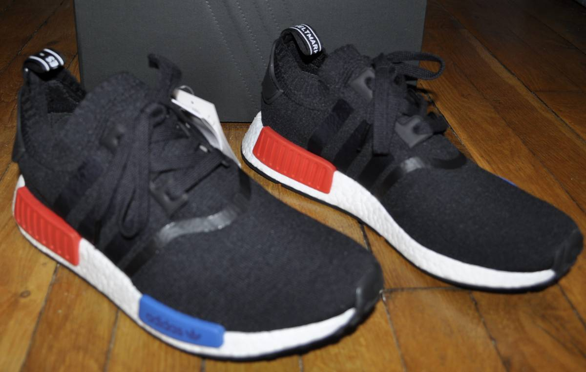 Adidas NMD R1 Primeknit OG 'Black'