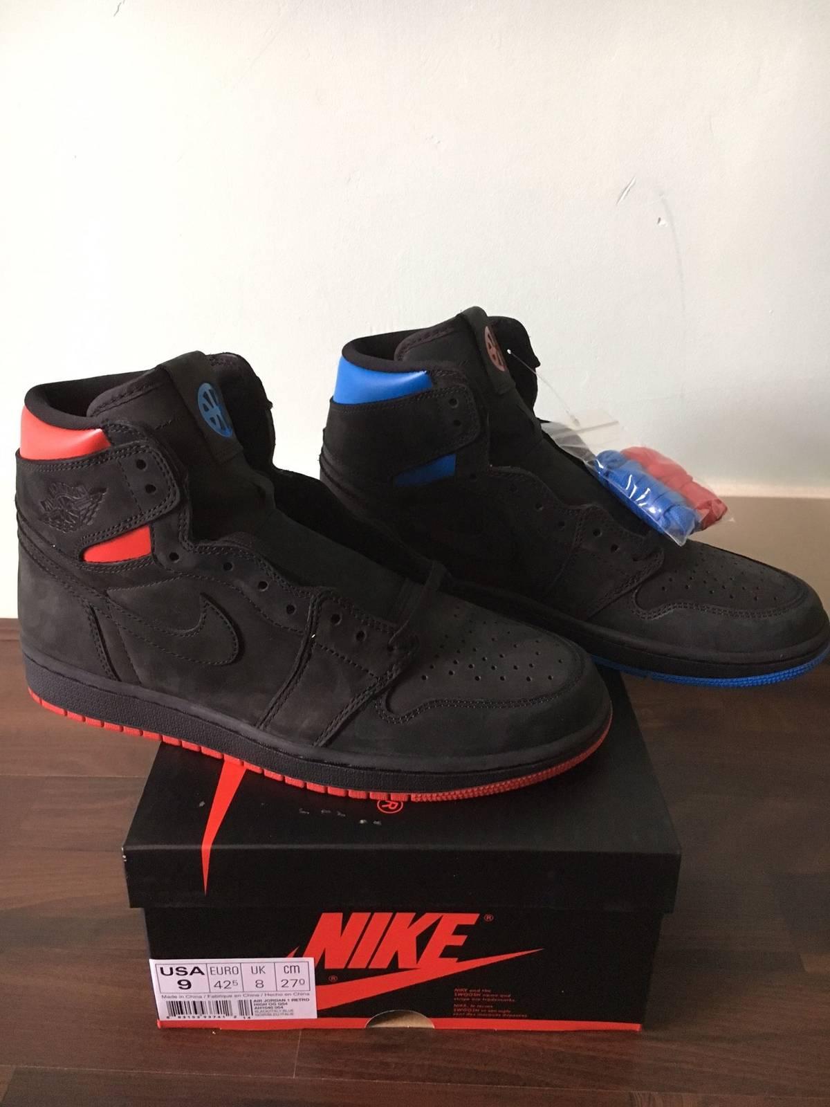 new product 1137c 068b7 ... Nike Air Jordan 1 Quai 54Q54 Retro High OG 9US - photo 1