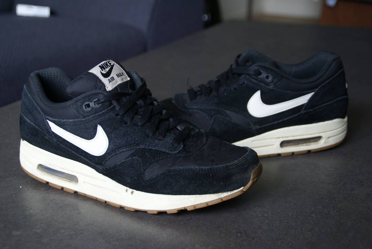 Nike Air Max 1 Essential Suede Pack Black - photo 16 . c36e5a254