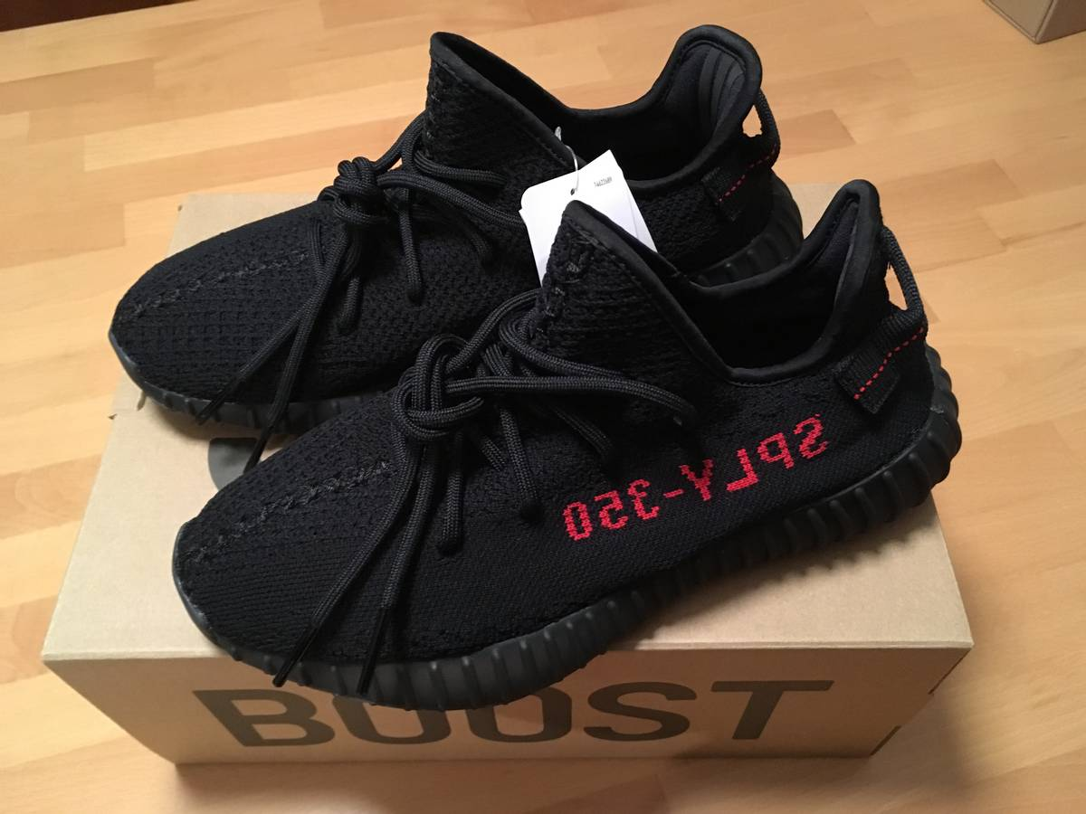 Yeezy Boost 350 v2 Bred Size 11.5 Like New!