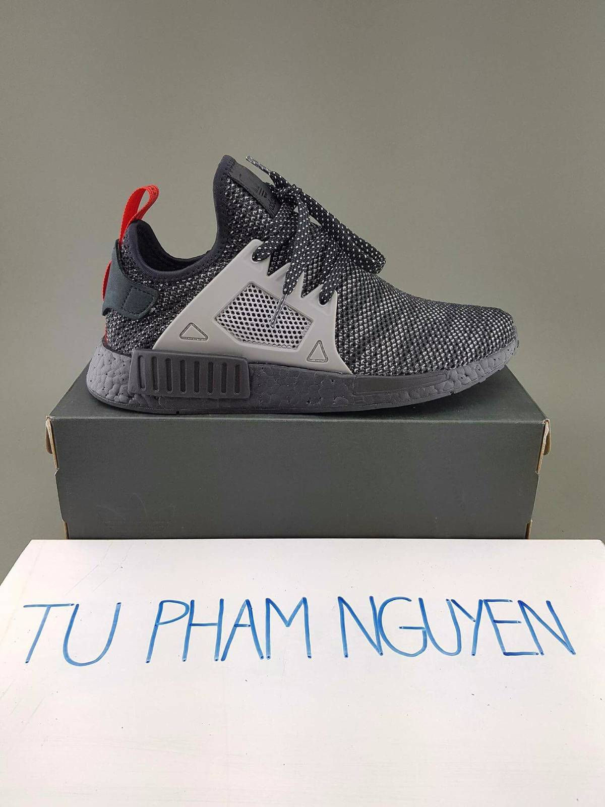 hot sale 2017 adidas NMD XR1 Womens Triple White koming kc.hr