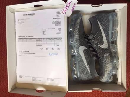 "Nike <strong>Vapormax</strong> Flyknit ""asphalt"" US 12 - photo 1/5"