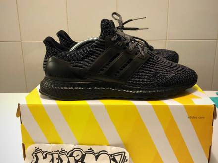 Adidas ultra boost black silver - photo 1/5