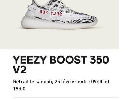 Adidas Yeezy Boost 350 V2 Zebra - photo 1/5