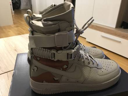 Nike Air Force 1 Special Field 'Desert camo' US7 - photo 1/7