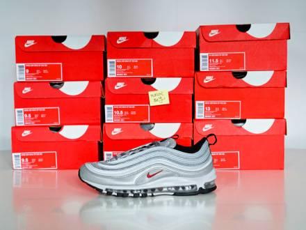 "Nike <strong>Air</strong> <strong>Max</strong> <strong>97</strong> ""<strong>Silver</strong> Bullet"" EU 42.5 43 44 44.5 45 47 47.5 48.5 / US 9 9.5 10 10.5 11 12.5 13 14 - photo 1/8"