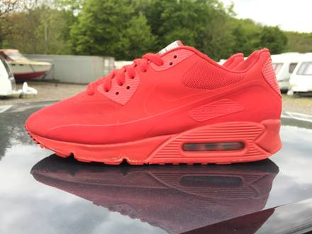 Nike Air Max 90 Hyperfuse QS Independence Day Red - photo 1/7