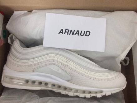 Nike Air max 97 Summit White 10us - photo 1/5