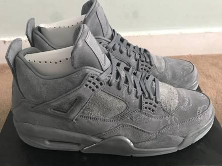 KAWS x Nike Air Jordan 4 uk size 10 for sale - photo 1/8
