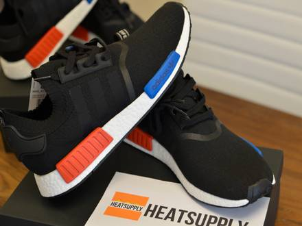Adidas PK NMD OG 'Black' US10.5 US11 DEADSTOCK - photo 1/7