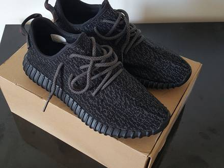 Adidas Yeezy boost 350 - 2.0 - Pirate black - 9 US - photo 1/5
