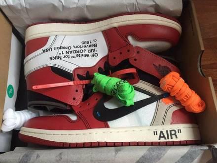 "Air Jordan 1 Nike x Virgil Abloh Off-White ""The Ten"" - photo 1/5"