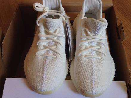 Adidas Yeezy Boost 350 v2 Cream White 5.5 US/38EU DSWT - photo 1/6