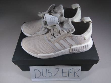 Adidas nmd r1 triple white gum pack sole black pk primeknit