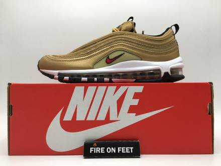 Nike <strong>Air</strong> <strong>Max</strong> <strong>97</strong> OG QS <strong>Gold</strong> - photo 1/5