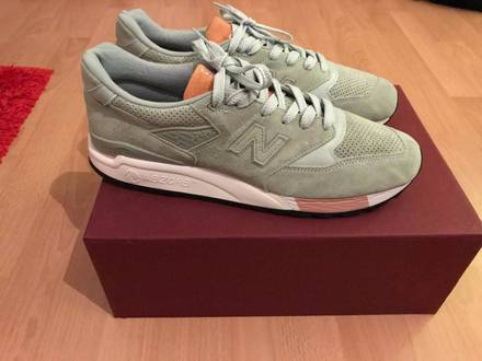New Balance 998 Tannery x Concepts - photo 1/7