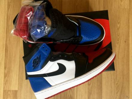 Nike Jordan 1 Top 3 Three US9 - photo 1/5