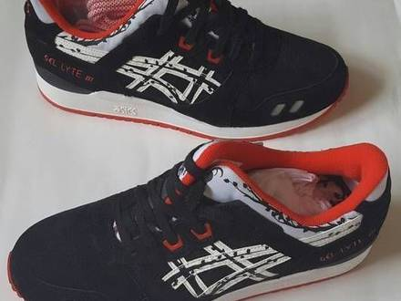 "Asics GEL Lyte III x Titolo ""Paper cut"" us 9 / 41.5 eu - photo 1/5"