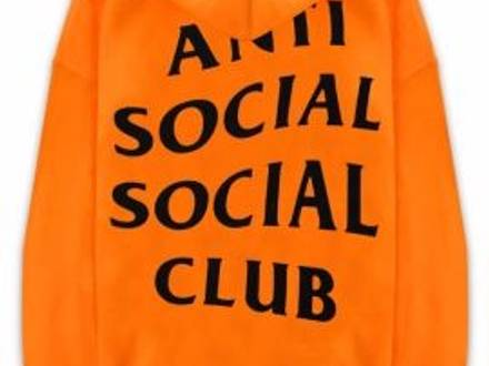 Anti Social Social Club Shanghai Hoodie Size M - photo 1/5
