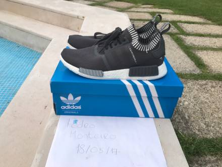 Adidas nmd pk Japan grey sz 12 - photo 1/6