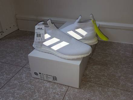 <strong>Adidas</strong> ACE16+ Purecontrol <strong>Ultra</strong> <strong>Boost</strong> <strong>triple</strong> <strong>white</strong> - photo 1/8