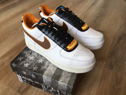 Nike x Riccardo Tisci Air Force 1 SP size US10 - photo 1/5