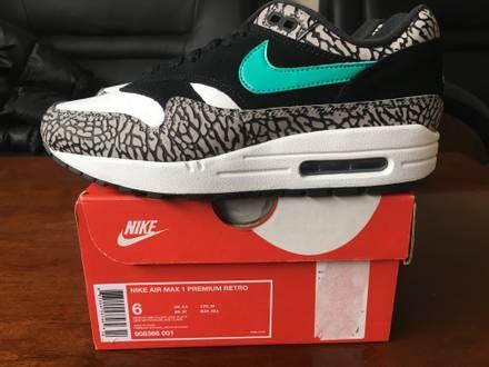 2017 Nike air max 1 atmos elephant retro - photo 1/5