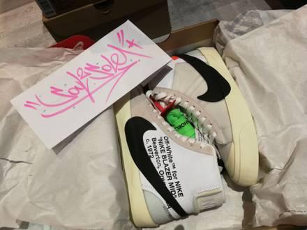 "The 10: Nike Blazer MID ""Off-White"" multiple sizes - photo 1/8"