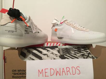 Nike x Off White Air Force 1 Low Virgil Abloh 'The Ten' - photo 1/7