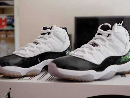 Air Jordan XI 11 CONCORD SIZE 9.5US 2011 - photo 1/5