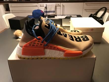 Adidas X Pharrell Williams Hu Nmd Trail Beige - photo 1/6