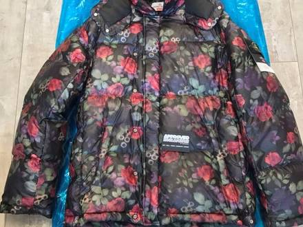 Supreme x Stone Island Lamy Cover Stampato Puffy Jacket Black size Large L - photo 1/5