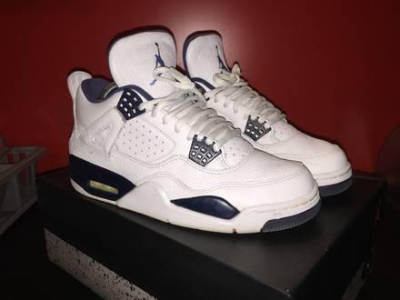 Air Jordan 4 Legend Blue - photo 1/7
