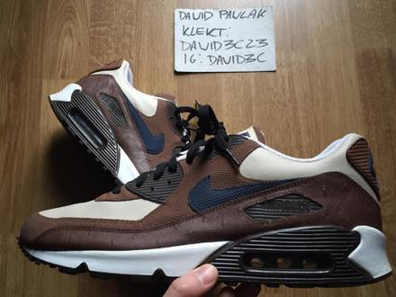Nike Air Max 90 premium Rustic Ostrich Leather - photo 1/7