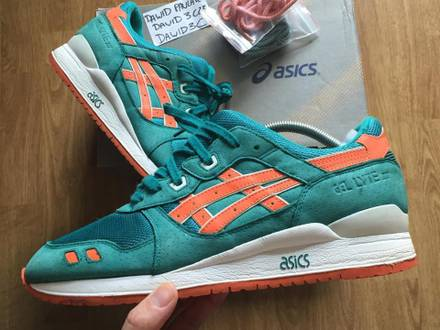 Asics Gel Lyte III x Ronnie Fieg x Kith ECP Miami Dolphins - photo 1/5