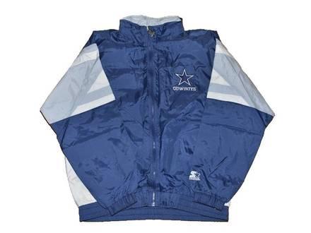 Starter Dallas Cowboys Jacket Size L Deadstock Vintage - photo 1/5