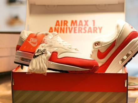 Nike Air Max 1 OG Anniversary Red - photo 1/5
