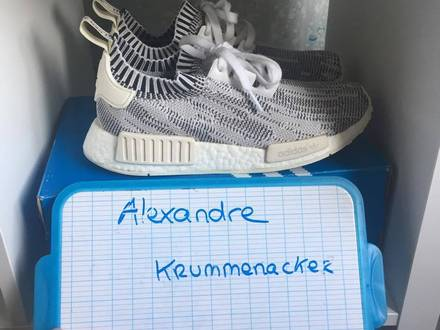 NMD PK GLITCH CAMO <strong>WHITE</strong> - photo 1/5