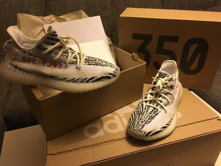 Adidas <strong>Yeezy</strong> Boost 350 V2 <strong>Zebra</strong> US 10 Eur 44 - photo 1/5