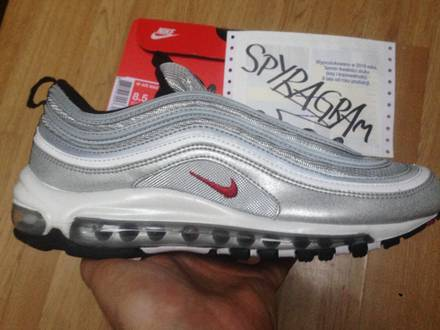 WMNS Nike Air Max 97 Silver Bullet OG QS 2017 Brand New US8,5 - photo 1/5
