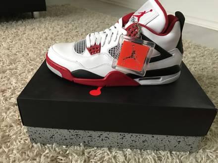 "Nike Air Jordan 4 Retro IV Infrared ""2012 Release"" - photo 1/5"