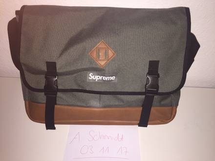 Supreme Fw08 Messenger Bag Waist shoulder duffle Backpack Box Logo - photo 1/5